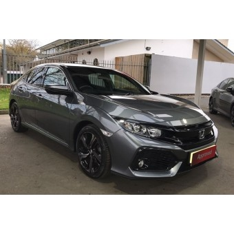 2018 HONDA CIVIC SR POLISHED METALIC