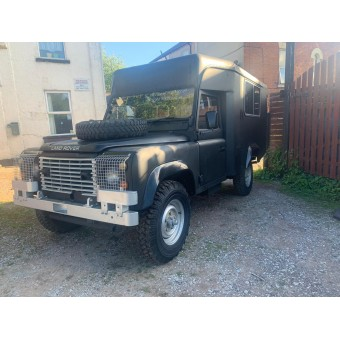 LAND ROVER DEFENDER 110 - AMBULANCE - EX ARMY - Right Hand Drive CAMPER