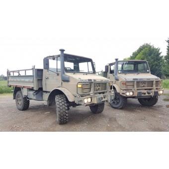 1992 MERCEDES BENZ UNIMOG U1300L EX-ARMY RHD