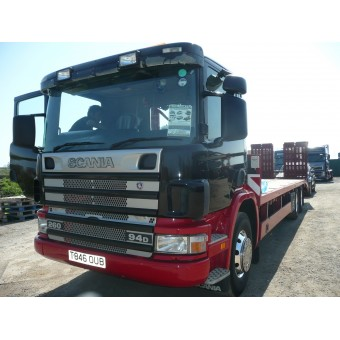 1999 SCANIA 94D PLAT CARRIER