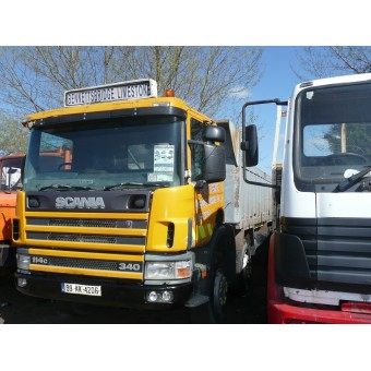 1999 SCANIA 114C TIPPER 8X4