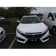 2019 HONDA CIVIC EX SALOON - WHITE