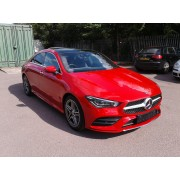 2019 MERCEDES BENZ CLA200 AMG LINE PREMIUM PLUS RED