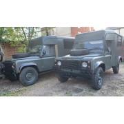 1985 LAND ROVER DEFENDER AMBULANCE CAMPER EX-ARMY