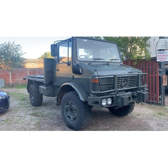 1986 MERCEDES BENZ UNIMOG-EX ARMY LOW MILES