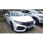 2019 BRAND NEW HONDA CIVIC EX TECH White
