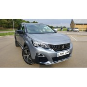 2017 Registered Peugeot Allure 3008 with Panoromic Glass Sun Roof